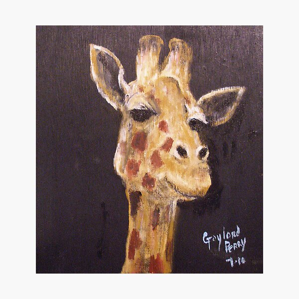 """Mr.G.Giraffe"" Print Photographic Print"
