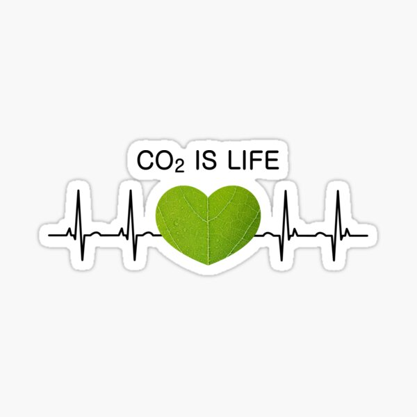 Co2 is Life Sticker