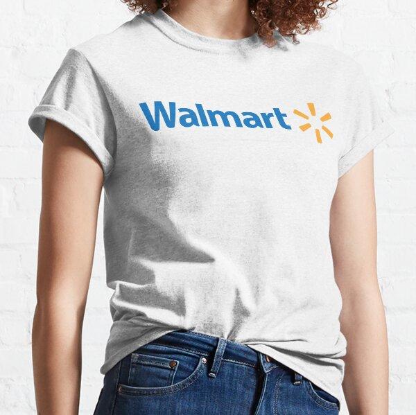 Logotipo de Walmart Camiseta clásica