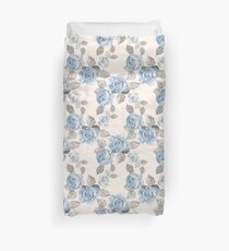 Vintage pattern. Watercolor Duvet Cover