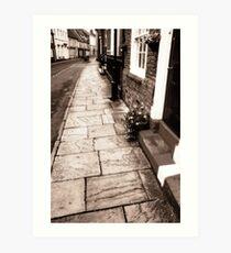 Bridlington old town. Art Print