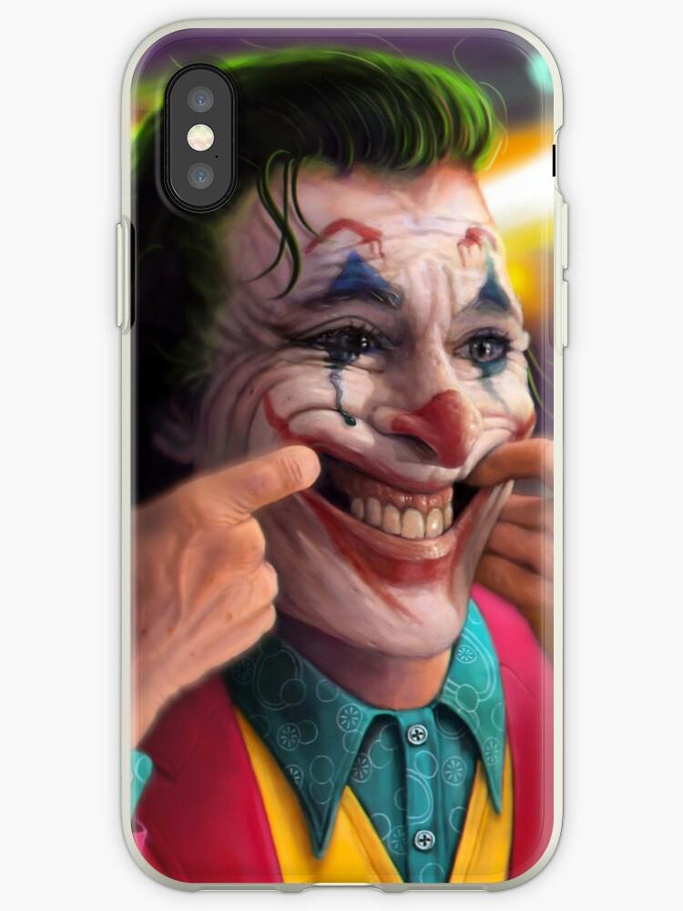 \u0027Arthur Fleck\u0027 iPhone Case by andrekoeks