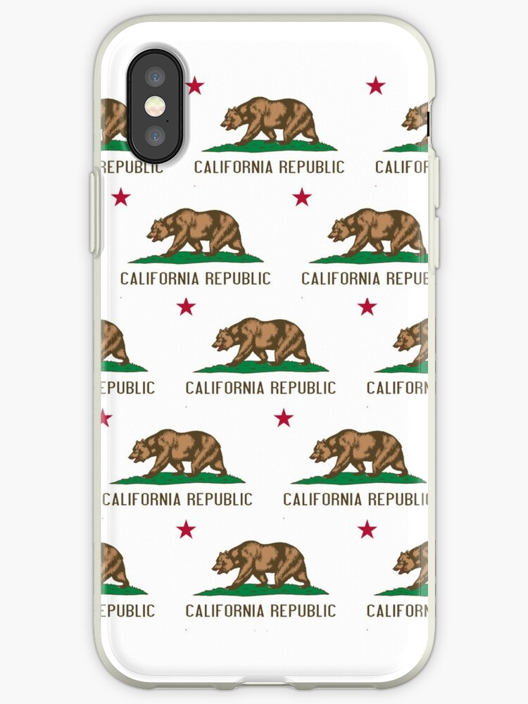 California Republic Flag Pattern by frittata