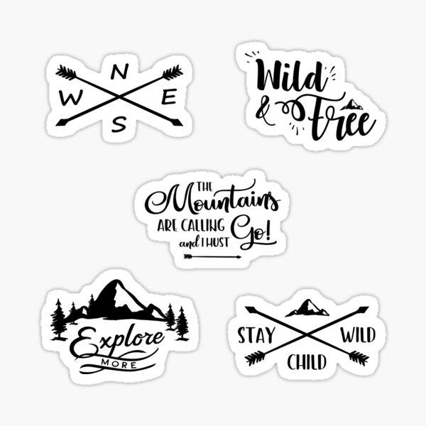 Adventure Sticker Set Pack Sticker