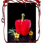 «Arte de pimiento rojo» de Heather Friedman