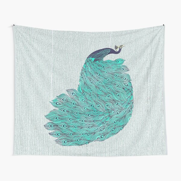 A very, very peacock Tapestry