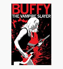 Buffy Rocks Photographic Print