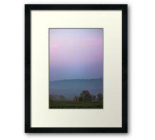 Wharfedale Morning Framed Print