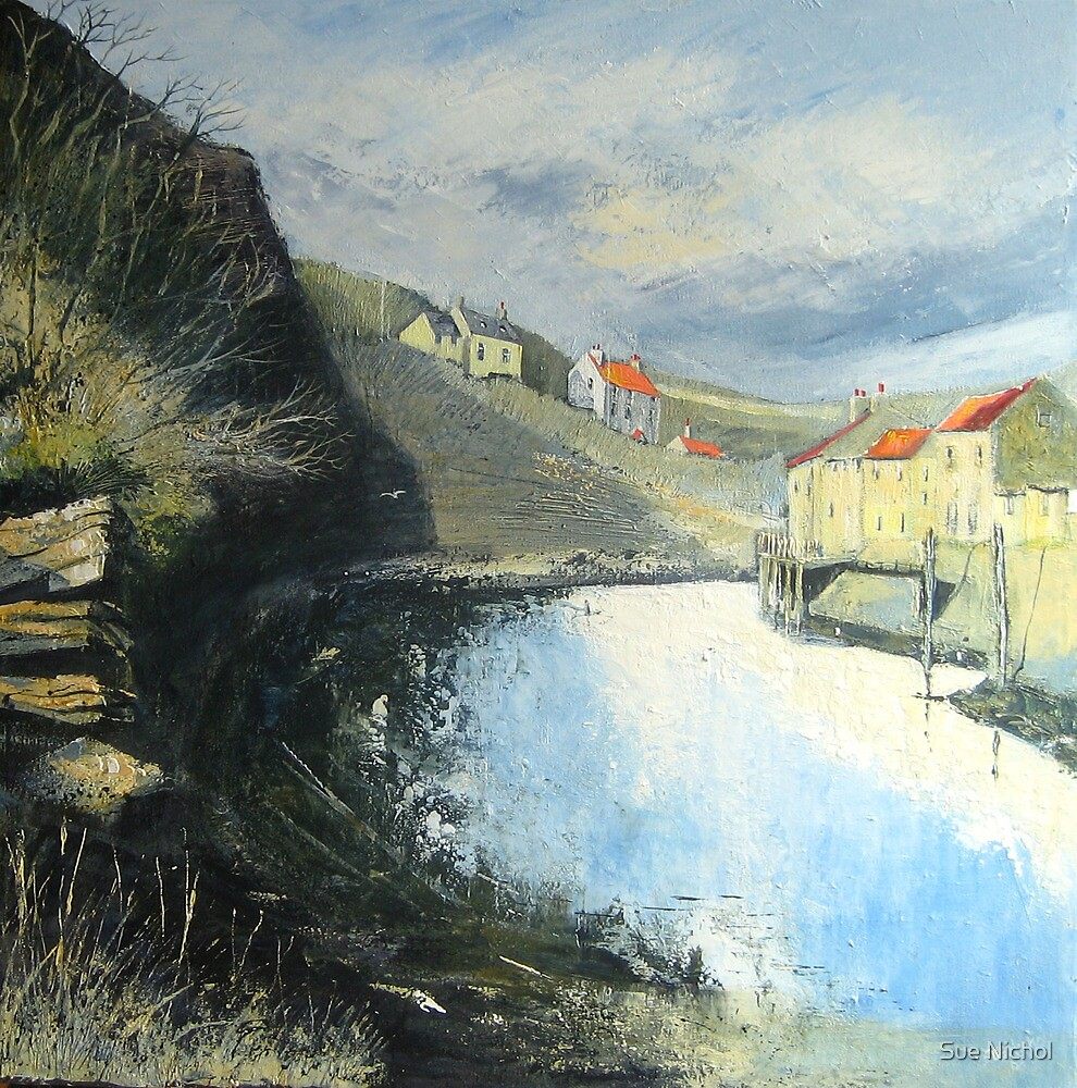 Tranquil Staithes by Sue Nichol