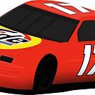 Darrell Waltrip #17 Chevrolet Lumina Tide Icon by GHRDesign