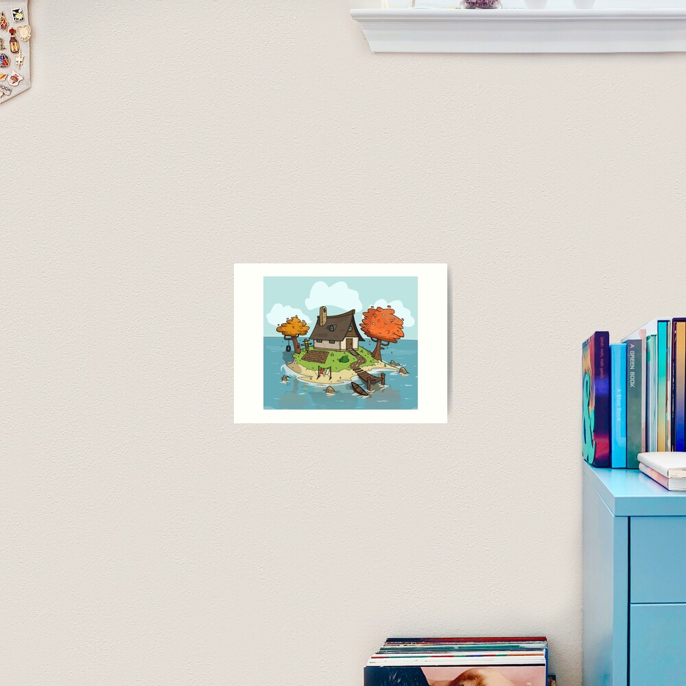 Island Home Art Print