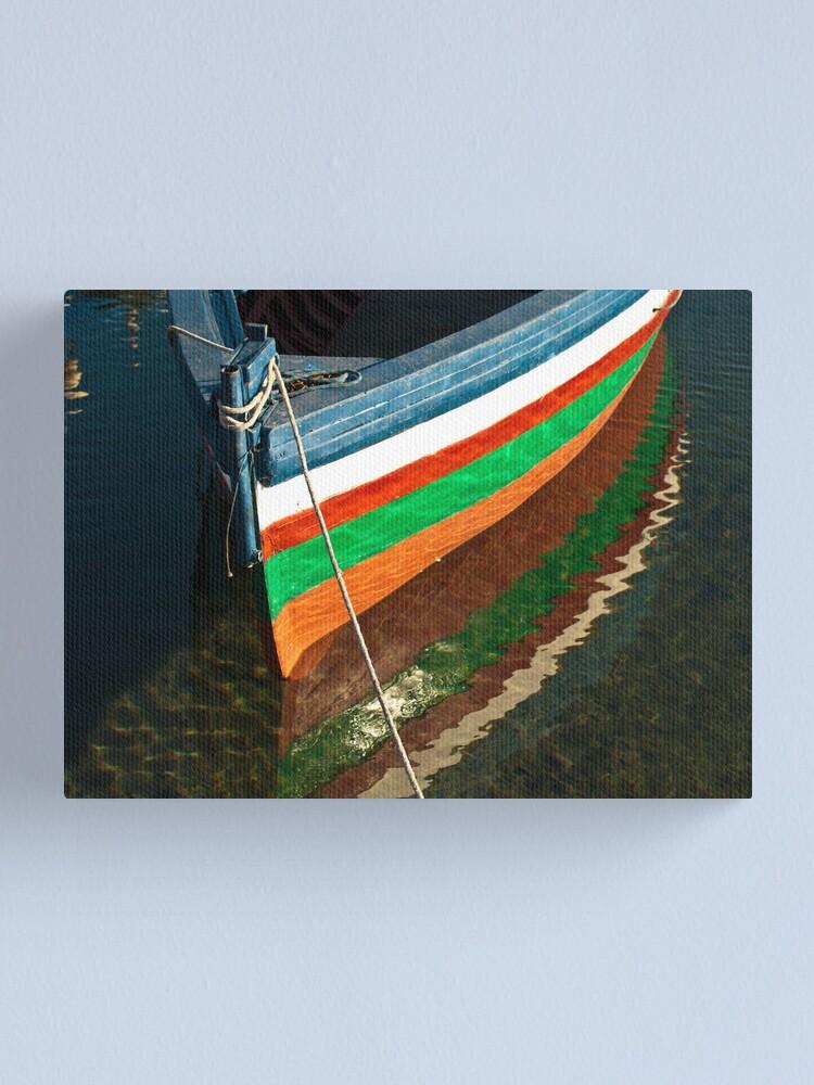 Alternate view of I colori di Ognina Canvas Print