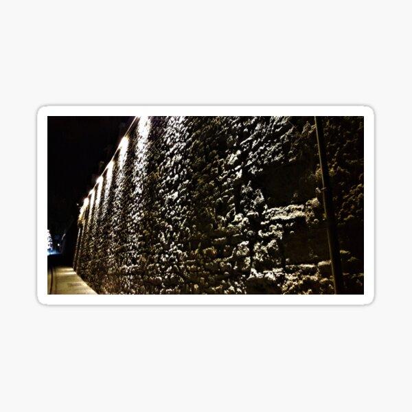 Stone Wall Illumination Sticker