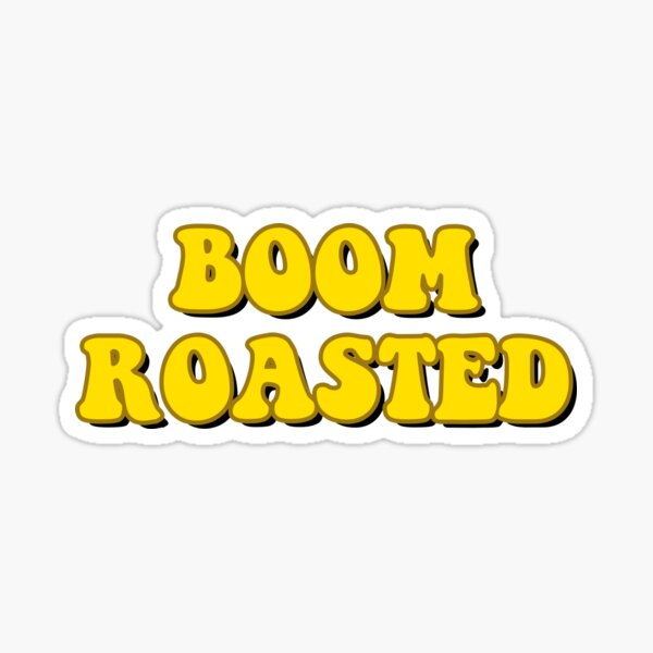 Boom Roasted Sticker
