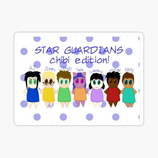 Star Guardians: Chibi Edition Sticker
