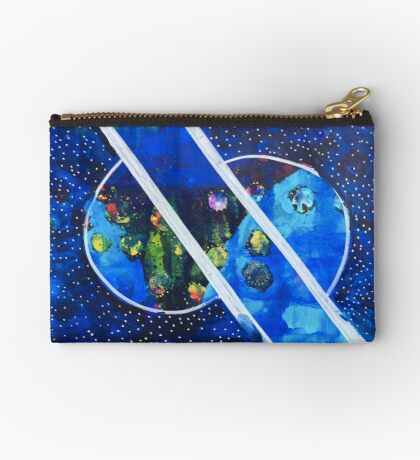 Straddling the Worlds: Inner Power Painting Studio Pouch