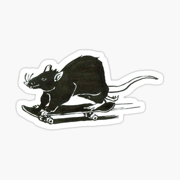 Skater Rat Sticker