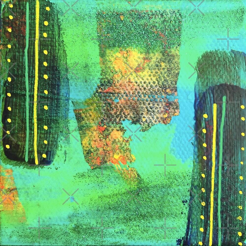 Adventurous Abundance - Core Feeling: Inner Power Painting by mellierosetest