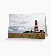 Happisburgh Lighthouse Greeting Card