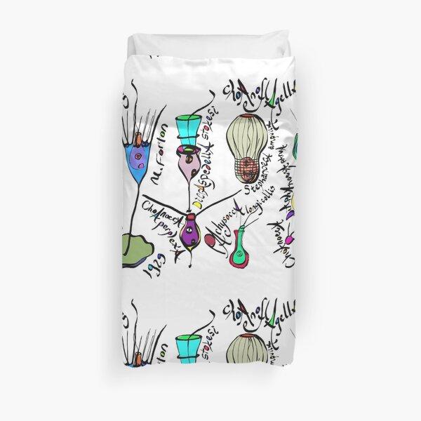 Cheeky Choanoflagellates Duvet Cover