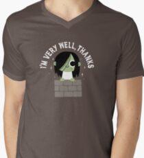 Very Well Thanks V-Neck T-Shirt