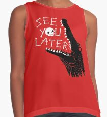 See You Later, Alligator Sleeveless Top