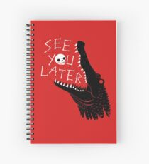 See You Later, Alligator Spiral Notebook
