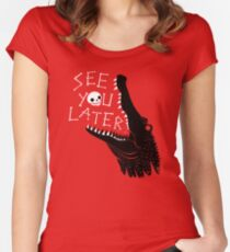 See You Later, Alligator Fitted Scoop T-Shirt