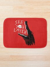 See You Later, Alligator Bath Mat