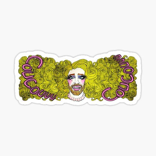 Lolla Wesh Mega coucou Sticker