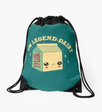 Legend-Dairy Drawstring Bag