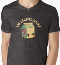 Legend-Dairy V-Neck T-Shirt