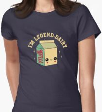Legend-Dairy Fitted T-Shirt