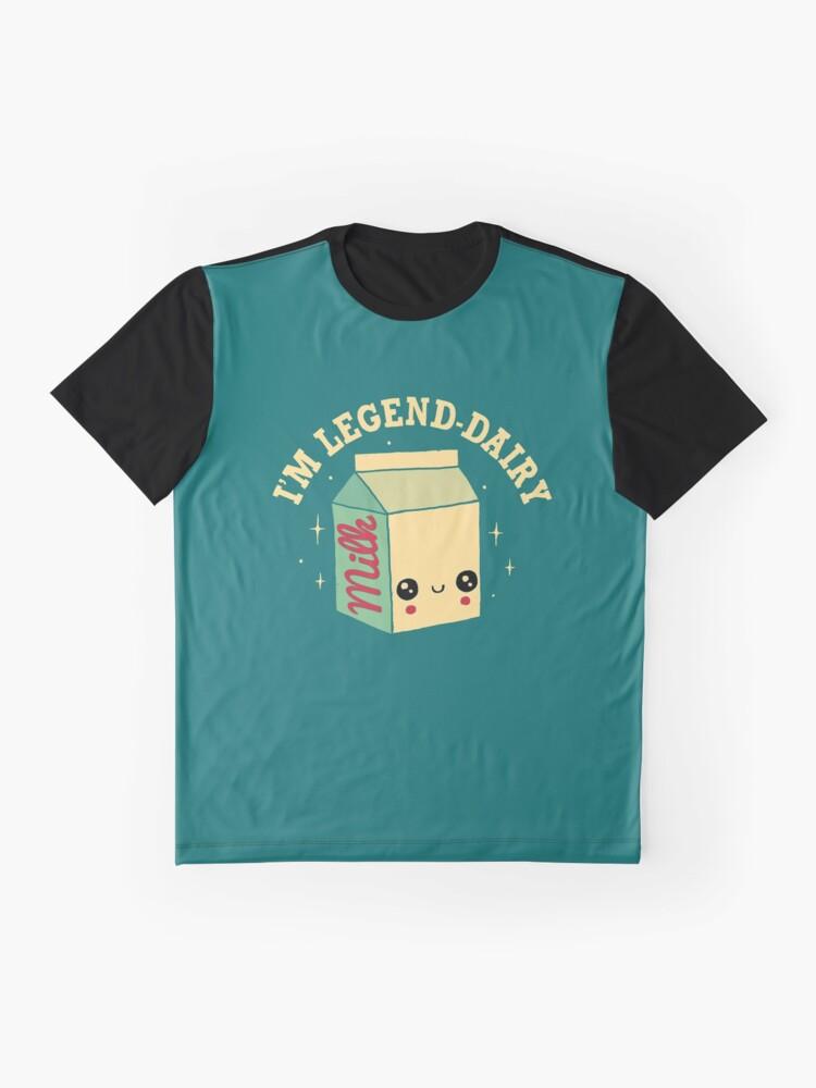 Alternate view of Legend-Dairy Graphic T-Shirt