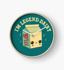 Legend-Dairy Clock