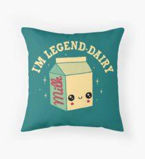 Legend-Dairy Throw Pillow