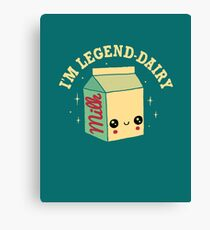 Legend-Dairy Canvas Print