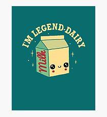 Legend-Dairy Photographic Print