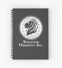 Der Wolf von Wall Street Stratton Oakmont Inc. Scorsese (in weiß) Spiralblock