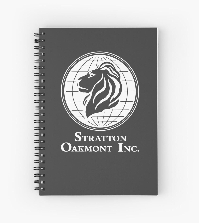 «El lobo de Wall Street Stratton Oakmont Inc. Scorsese (en blanco)» de lauraporah