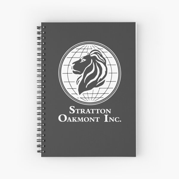 The Wolf of Wall Street Stratton Oakmont Inc. Scorsese (in white) Spiral Notebook