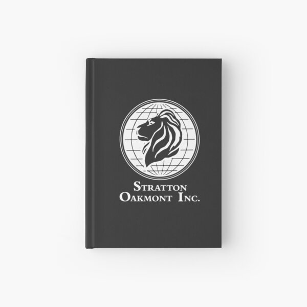 The Wolf of Wall Street Stratton Oakmont Inc. Scorsese (in white) Hardcover Journal