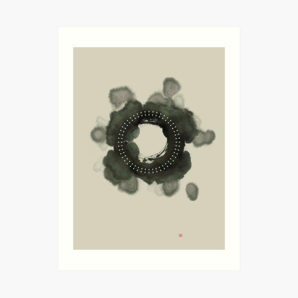 Fractal Om Art Print