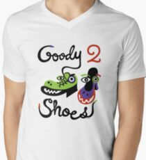 Goody Two Shoes Men's V-Neck T-Shirt