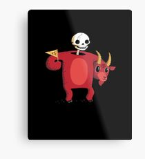 Mascot From Hell Metal Print