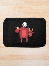 Mascot From Hell Bath Mat