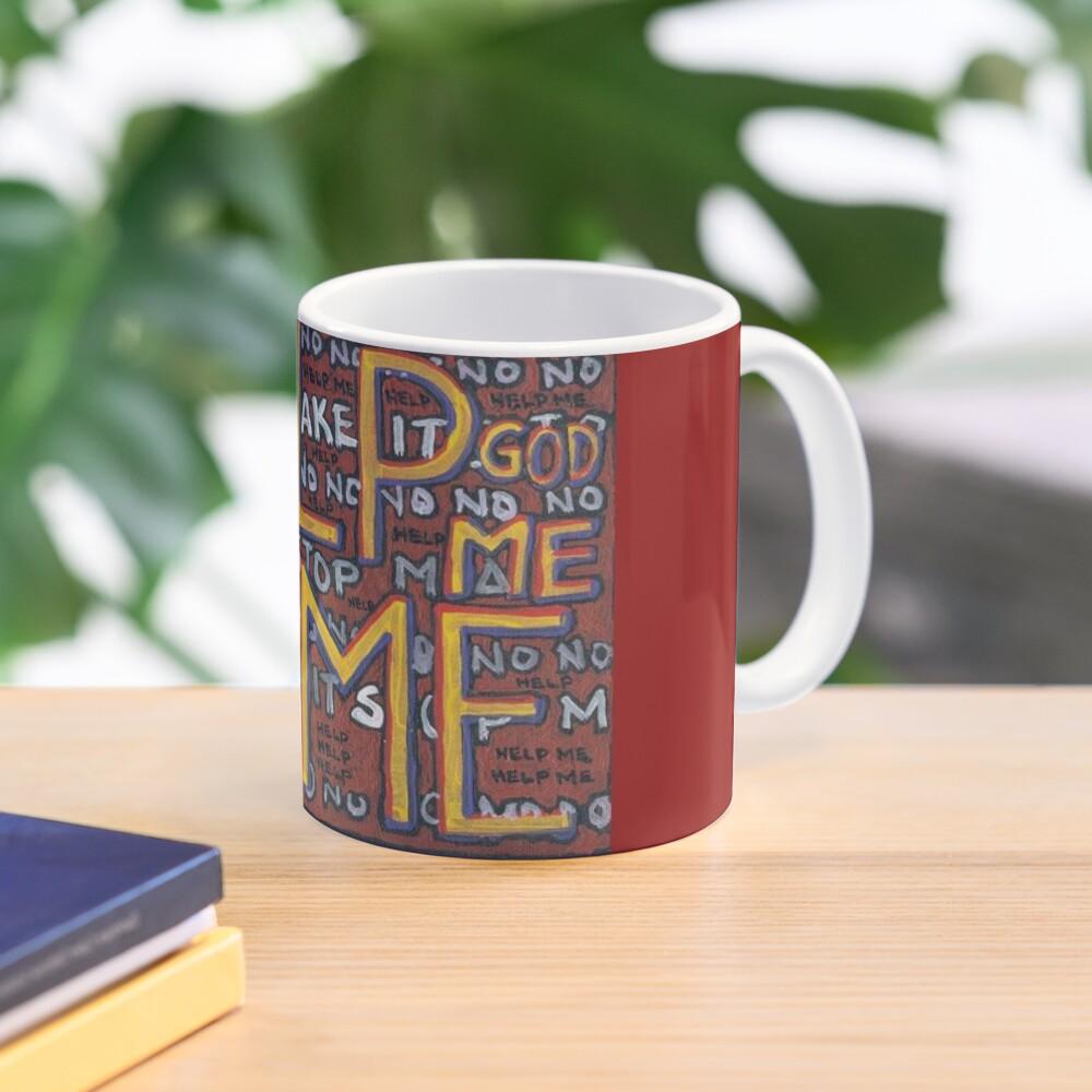 HELP ME - God, Help Me! - Brianna Keeper Painting Mug