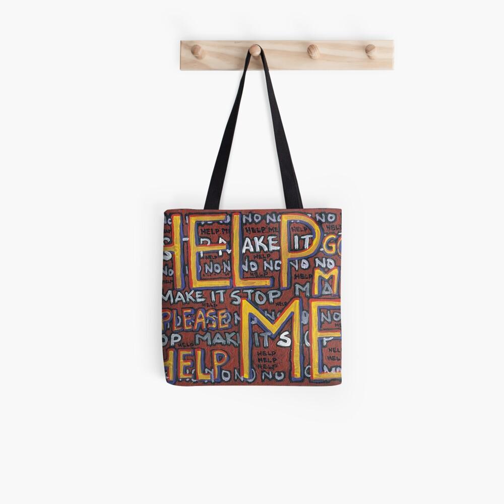 HELP ME - God, Help Me! - Brianna Keeper Painting Tote Bag