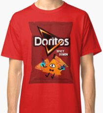 Bill Cipher Dämon Doritos Classic T-Shirt