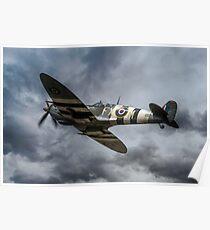 The Kent Spitfire Poster